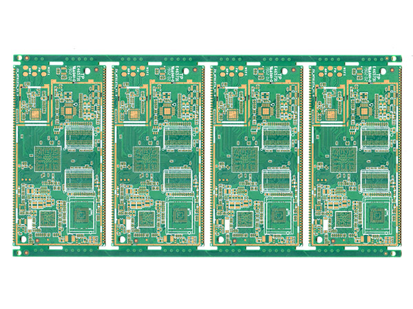 Automotive PCB with Plated Half Holes
